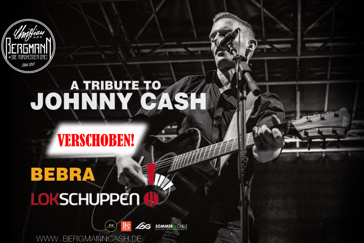 Verlegung der Johnny Cash Tribute Show