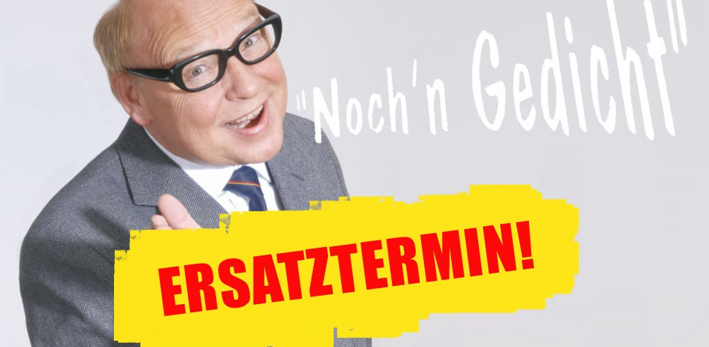 Verlegung der Auftritte von Heinz Erhardt