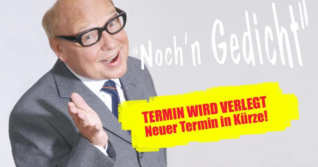 Verlegt: Der große Heinz Erhardt-Abend Zusatztermin